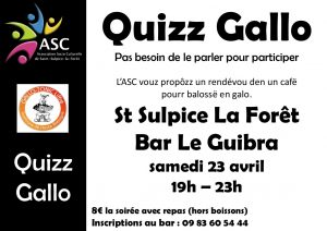 Flyer Quizz Gallo 2016